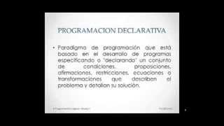 Programación Lógica Video 1