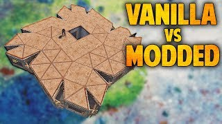 Rust VANILLA vs. MODDED Base Tours