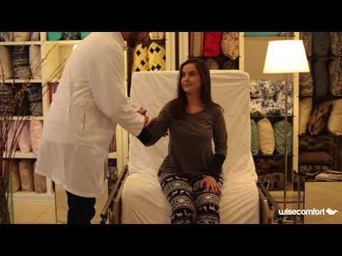 Vídeo do produto Cama-poltrona Advance 4 Movimentos com grade, colchão e rodízios
