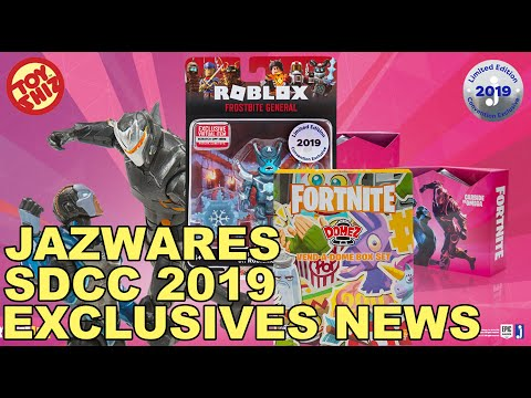 NEW SDCC 2019 Exclusives/Giveaway Days for JAZWARES/FORTNITE and MORE!