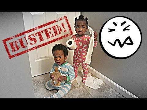 JAXSON AND JAYLA WERE CAUGHT RED-HANDED! 👶🏽👶🏾😂😂😍