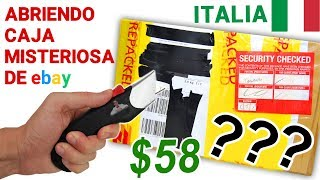 Abriendo Caja Misteriosa de Ebay de ITALIA de $58 📦❓   Caja Sorpresa