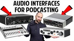 Podcast Audio Interfaces Compared! Is there Really any Difference?