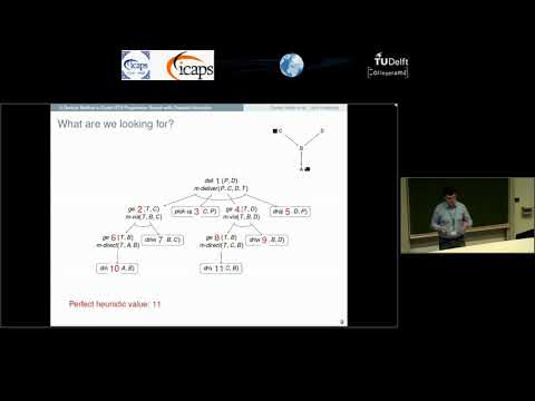 "ICAPS 2018: Daniel Höller on ""A Generic Method to Guide HTN Progression Search with Classical ..."""