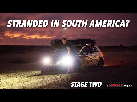 Stage 2 | Did we go TOO LOW for South American Roads? | Rallywagen 2