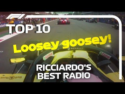 Top 10 Daniel Ricciardo Team Radio Moments!