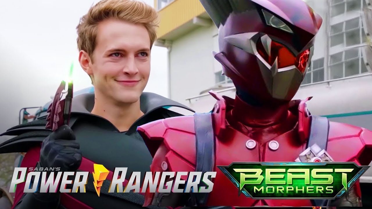 Blaze Ranger Morph | Power Rangers Beast Morphers Episode 2