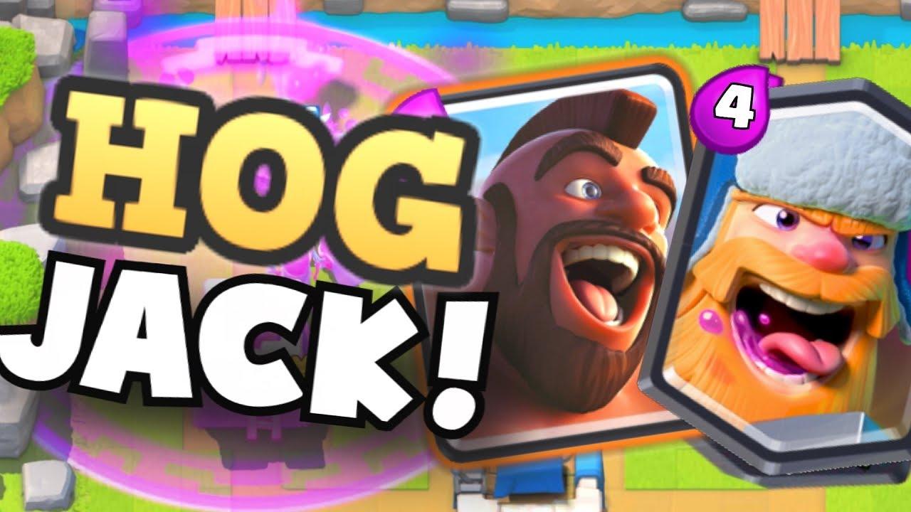 Lumberjack Deck Is Insane Skarmy Dead Tower Clash Royale Best You