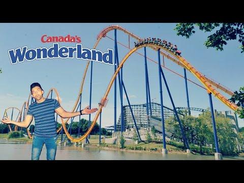 BIGGEST ROLLER COASTER in Canada's Wonderland