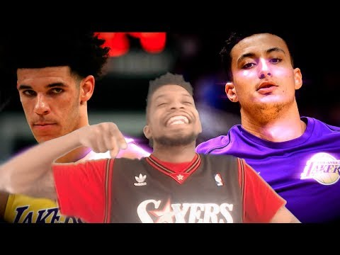 LET'S FINALLY SETTLE THIS!!! LONZO vs KUZMA SHOOTING CONTEST REACTION