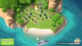 Boom Beach : Attack RACHET level 46