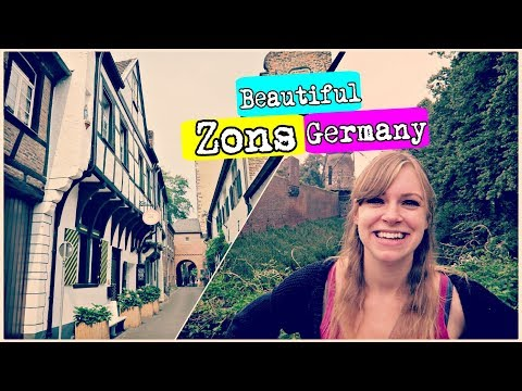 The CUTEST TOWN in North Rhine-Westphalia! | Zons, Germany Travel Vlog