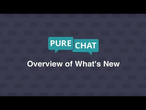 New Pure Chat Dashboard