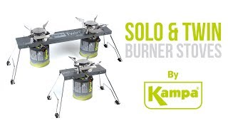 Kampa | Solo & Twin Stoves | Product Overview