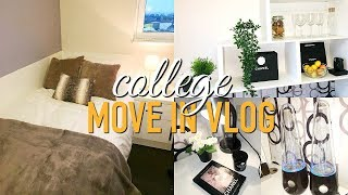 COLLEGE/ UNIVERSITY MOVE IN VLOG 2017! London College Of Fashion thumbnail