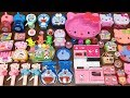 Special Series #Hello Kitty Vs Doremon and Peppa Pig | Mixing Random Things into Slime