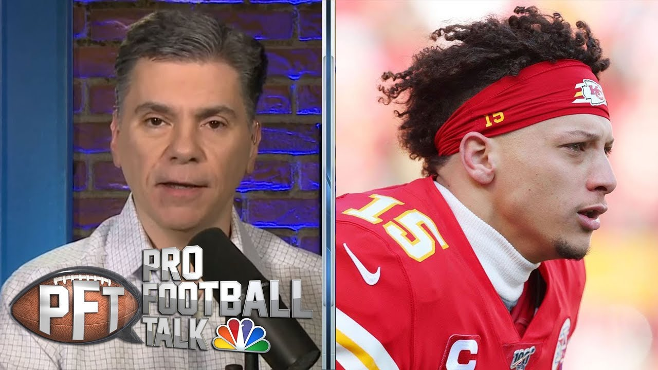 Super Bowl 2020: Mahomes' mobility could wear down 49ers' defense | Pro Football Talk | NB