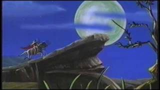 Introduction of Zorro Cartoon Show