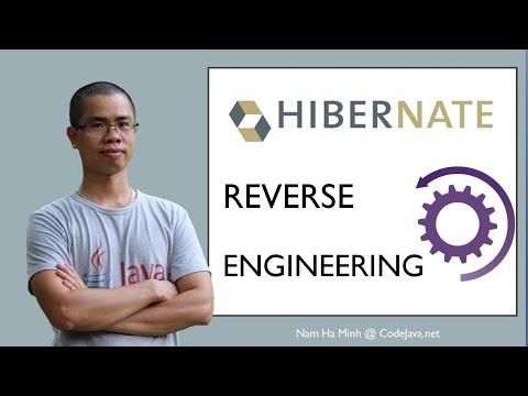 Java Hibernate Reverse Engineering Tutorial