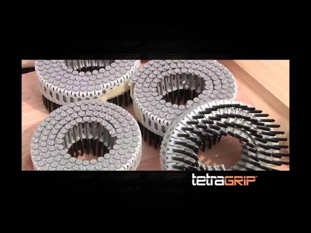 Paslode TetraGrip™ Subfloor Fastening System