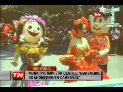 Municipio impulsa desfile Guayaquil es mi destino en Carnaval