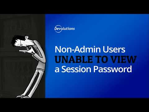 How To Enable The View Password Field in Remote Desktop Manager