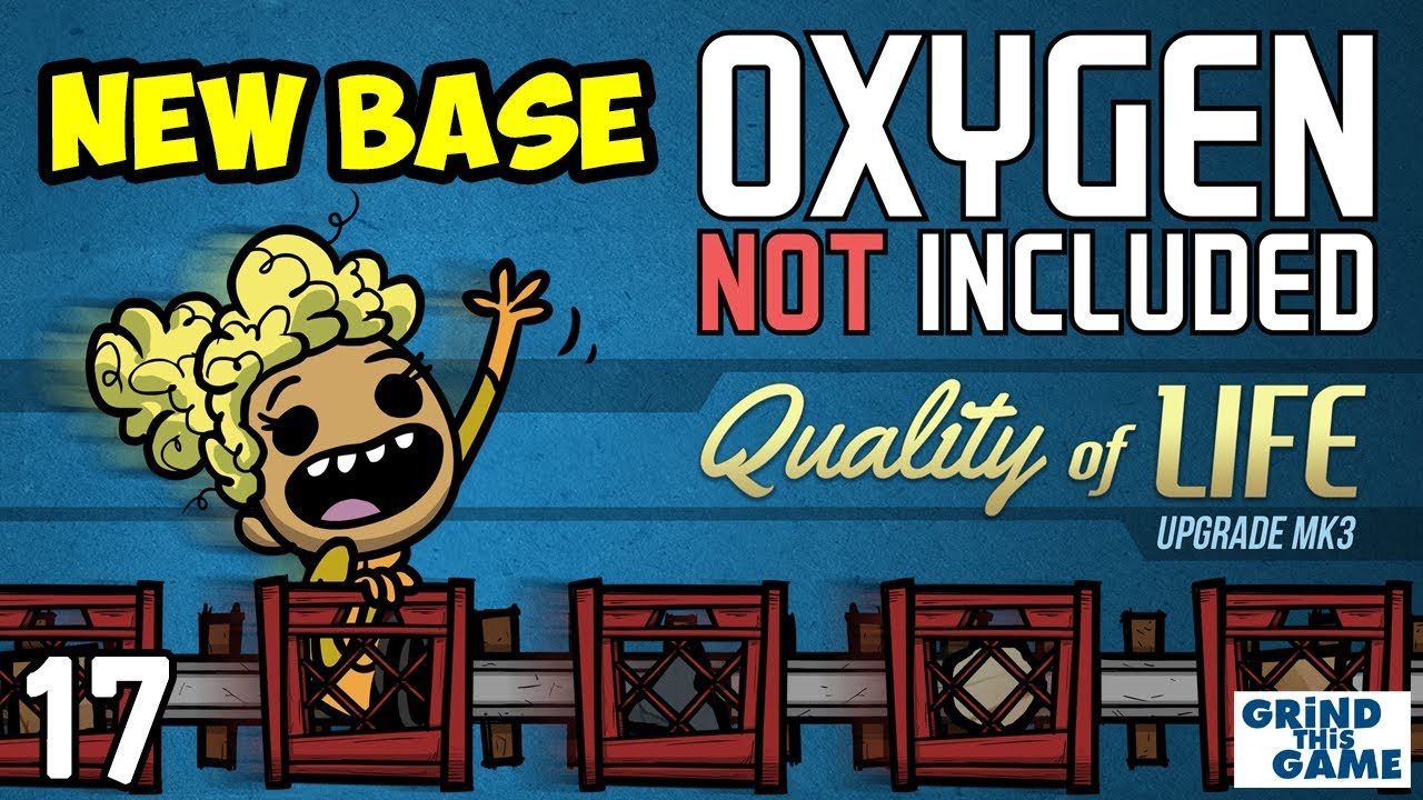 Oxygen Not Included #17 - SOLAR POWER - Quality of Life Upgrade Mk 3 (QoL  Mk3)