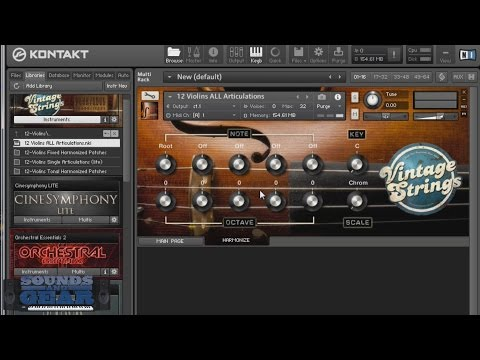 Big Fish Audio Vintage Strings Kontakt Library Review - SoundsAndGear