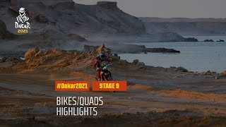 #DAKAR2021 - Stage 9 - Neom / Neom - Bike/Quad Highlights