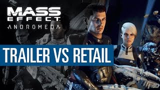 Mass Effect Andromeda DOWNGRADE? - Trailer vs Retail PC - Graphics Comparison