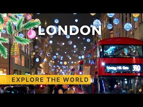 London Christmas Lights 2016, UK