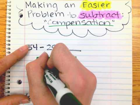 Compensation: Making an Easier Problem to Subtract