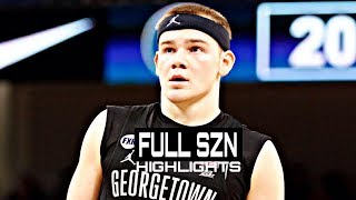 Mac McClung Georgetown Freshmen Season Highlights Montage 2018-19 - White Iverson!