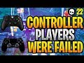 How Competitive Fortnite FAILED Controller Players... (Fortnite World Cup - Xbox + PS4)