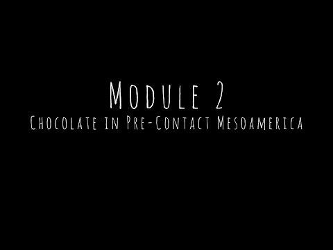 Module Two - Chocolate in Pre-Contact Mesoamerica