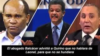 Relevan Llamada conferencia Quirino, Carlos Barcácer y Salvador Holguín 2015