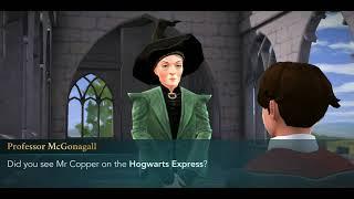 Harry Potter Hogwarts Mystery Asking Professor McGonagall about Ben