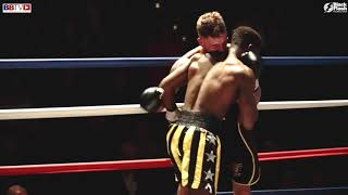 KILDARE WARD VS MWENYA CHISANGA - BBTV - BLACK FLASH PROMOTIONS MANCHESTER