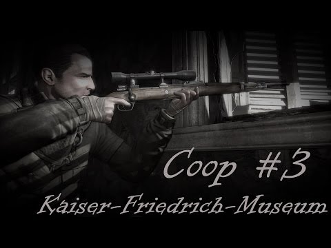 Let's Coop: Sniper Elite V2 [#3] Kaiser Friedrich Museum [Full HD 1080p] Gameplay PC Deutsch