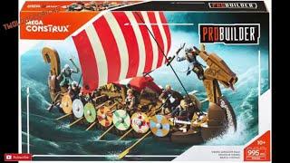 Mega Construx Viking Longship Raid  My Thoughts and Opinions Review