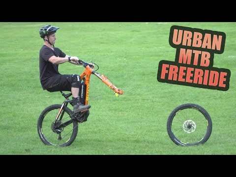 URBAN MTB FREERIDE AND NEW BIKE PARTS!