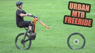 URBAN MTB FREERIDE AND NEW BIKE PARTS!