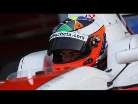 2012 F2 Driver interview - Luciano Bacheta