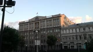 Ильинский сквер. Летний вечер.