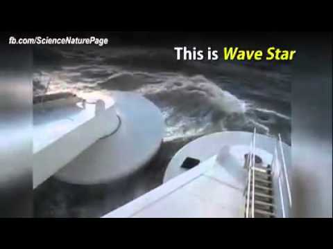 Wave Star - Denmark - 6MW electricity production - kinetic energy - future of world
