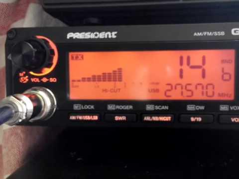 CB radio Thai - Sabah, Malaysian Borneo