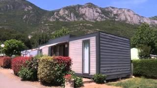 Locations Camping Soleil du Pibeste Hautes Pyrénées Chalet mobile-home 1 min