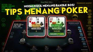Hajar Tips Menang Poker Online Terbaru Bisa Dengan Modal Kecil Youtube