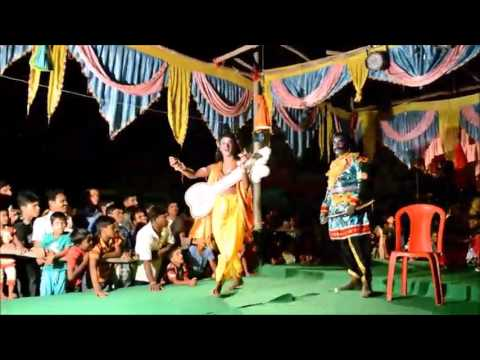 Mahisasur Badha, an ancient play,