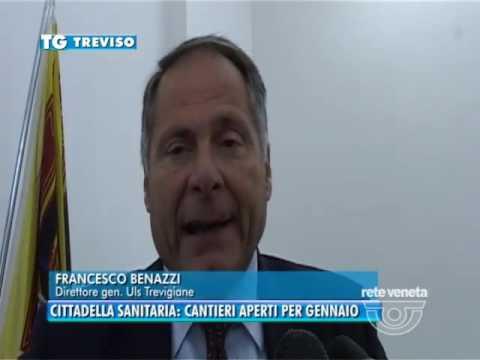 TG TREVISO (11/10/2016) - CITTADELLA SANITARIA: CANTIERI APERTI PER GENNAIO